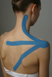 Muskelstimulation Taping, therapeutisches Taping, Taping Methode Therapie
